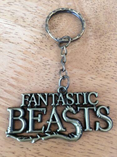 Harry Potter Bronze Fantastic Beasts Keyring