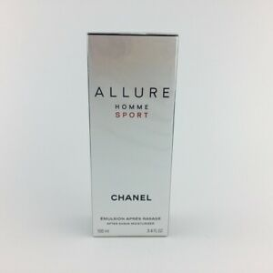 9731ab03c6c Image is loading Chanel-Allure-Homme-Sport-After-Shave-Moisturizer-100ml-