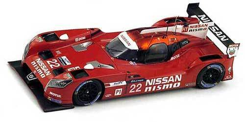 SPA18S190 by SPARKMODEL NISSAN GT-R LM NISMO  22 LE MANS 2015 1 18