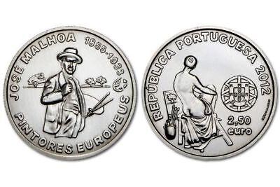 Portugal 2.50 2,50 euro 2014 University of Coimbra Alta e Sofia Unesco UNC