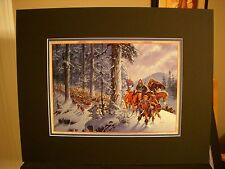 Robert Jordan Wheel of Time Fantasy Art Print Winter's Heart by Darrell K Sweet