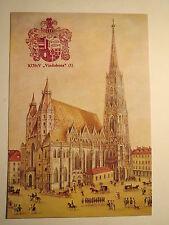 Wien - KÖStV Vindobona 1 - Wappen + Stephansdom / Studentika