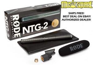 RODE-NTG2-Shotgun-Condenser-Mic-Microphone-ntg2-ntg-2-NTG-2-New-Make-Offer