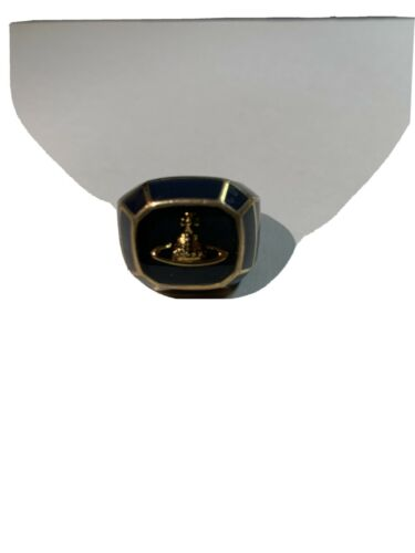 Vivienne westwood Ring Mint Size 13 Women Navy