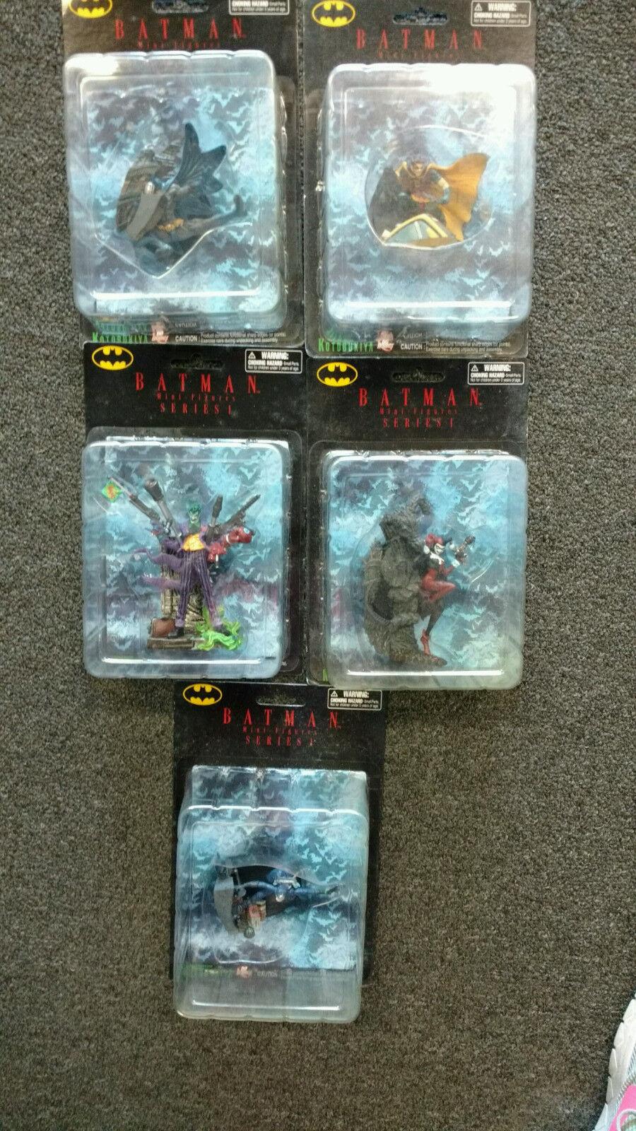Kotobukiya batman mini - figuren der serie 1 (5 stck)