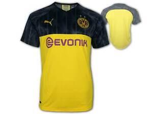 Puma BVB Cup Shirt 19/20 gelb Borussia Dortmund Trikot DFB Pokal BVB09 Gr.S-XXL