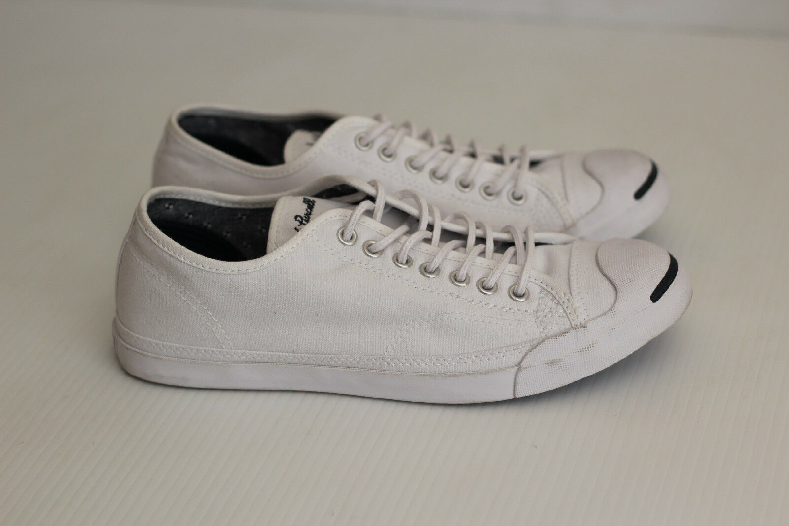 NEW Womens Converse Jack Purcell Sneakers Lace Up Low Top 9.5 - White - Size 9.5 Top 13f526
