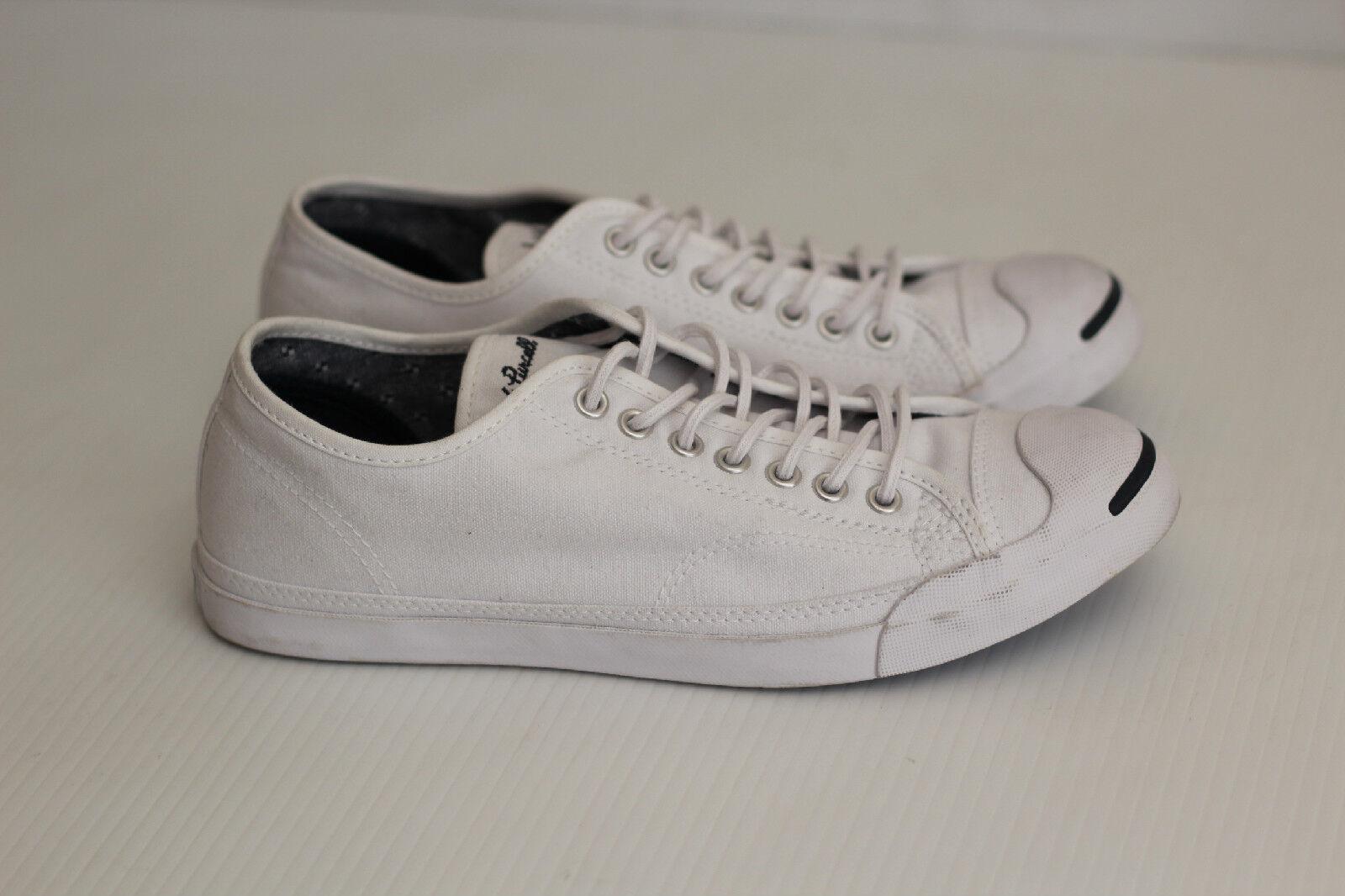 Nuevo Mujeres Converse Jack Purcell Tenis con Cordones Cordones Cordones Bajo Top-blancoo-Talla 9.5  marcas en línea venta barata