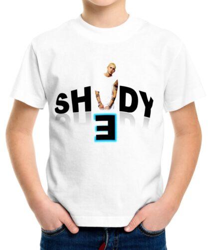 Eminem Boys Kid Youth T-Shirt Tee Age 3-13 New
