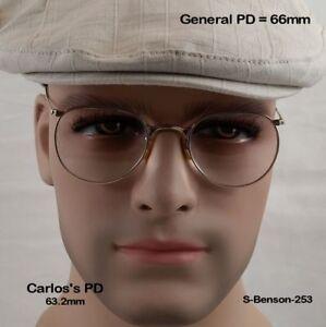 SHURON-BENSON-Ful-Vue-True-Antique-12k-Gold-Fill-Eyeglasses-and-Case