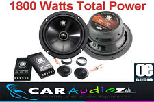 "6.5 "" 17cm 2-way CAR AUDIO componente ALTOPARLANTI COPPIA PORTA 1800 Watt di potenza totale"