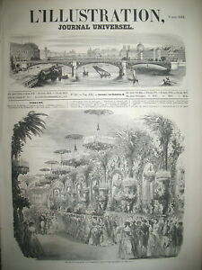 527-BAL-EMPEREUR-LA-HAVANE-TRAIN-TORINO-SAVIGLIANO-RUSSIE-L-039-ILLUSTRATION-1853