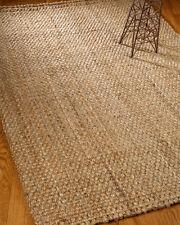 "Natural Hand Woven - Panama - Jute Rug 6"" x 4"""