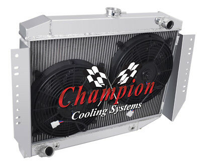 Champion Cooling 3 Row Radiator For 1972-1979 Jeep Cherokee