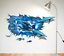 3D-Dolphin-Vinyl-Home-Room-Decor-Art-Wall-Decal-Sticker-Bedroom-Removable-Mural thumbnail 1
