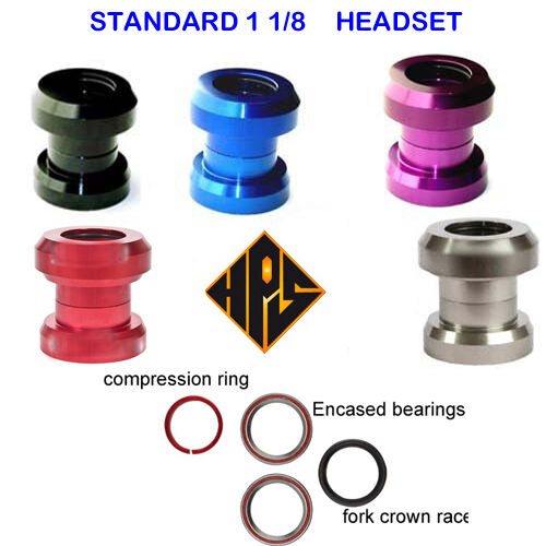 HPS PRO Qualité Supérieure Stunt Scooter Dirt Scooter Stunt Standard Sealed Bearing HEADSET 1 1/8
