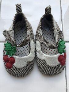 Baby Girl Christmas Season Shoes Size