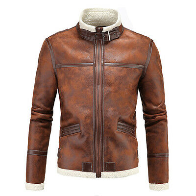 Game Genuine Leather cashmere Men's jackets Short Collar leatherJacket coat