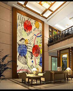 3d Motif De Mots 22 Photo Papier Peint En Autocollant Murale Plafond Chambre Art