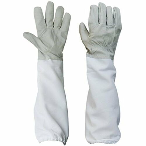 Gloves Beekeeping Canvas Protective Equipment With Vented Long Sleeves 4.33 Inch