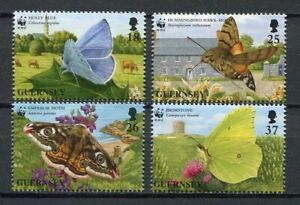 29599-Guernsey-1997-MNH-New-Butteflies-4v