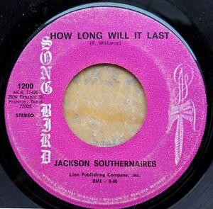 BLACK-GOSPEL-45-JACKSON-SOUTHERNAIRES-How-Long-Will-It-Last-He-039-s-So-Good