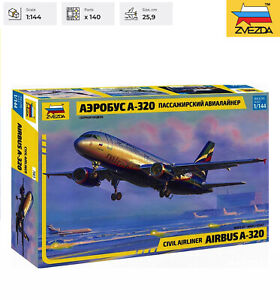 Airbus A 320 Zvezda Model Kit 7003 Civil Airliner Scale 1/144