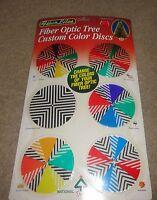 Fiber Optic Tree Custom Color Discs National Tree Company 6 Discs Seasonal Set