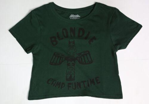 Eleven Paris x Blondie Women Camp Funtime Tee green sycamore
