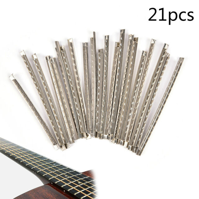 Musical Instruments Electric Instrument Good Set Of 24pcs High Quality Electric Guitar Copper 2.2mm Silver Guitar Fingerboard Fretwire Parts Accessories Brass/stainless 100% Original