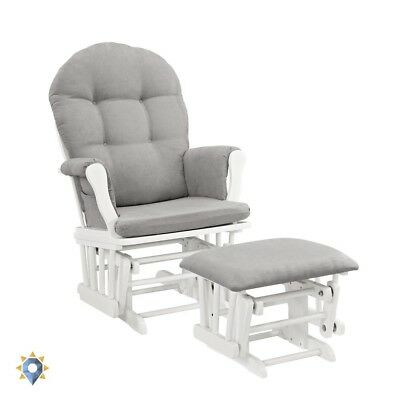 Gliding Ottoman Feed Rocking Chair