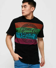 New Mens Superdry Mens Ticket Type Oversized Fit T-Shirt Black