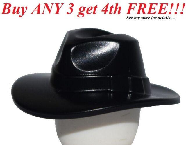 Headgear Hat Minifig Cowboy Hat with Swords Design Blue LEGO
