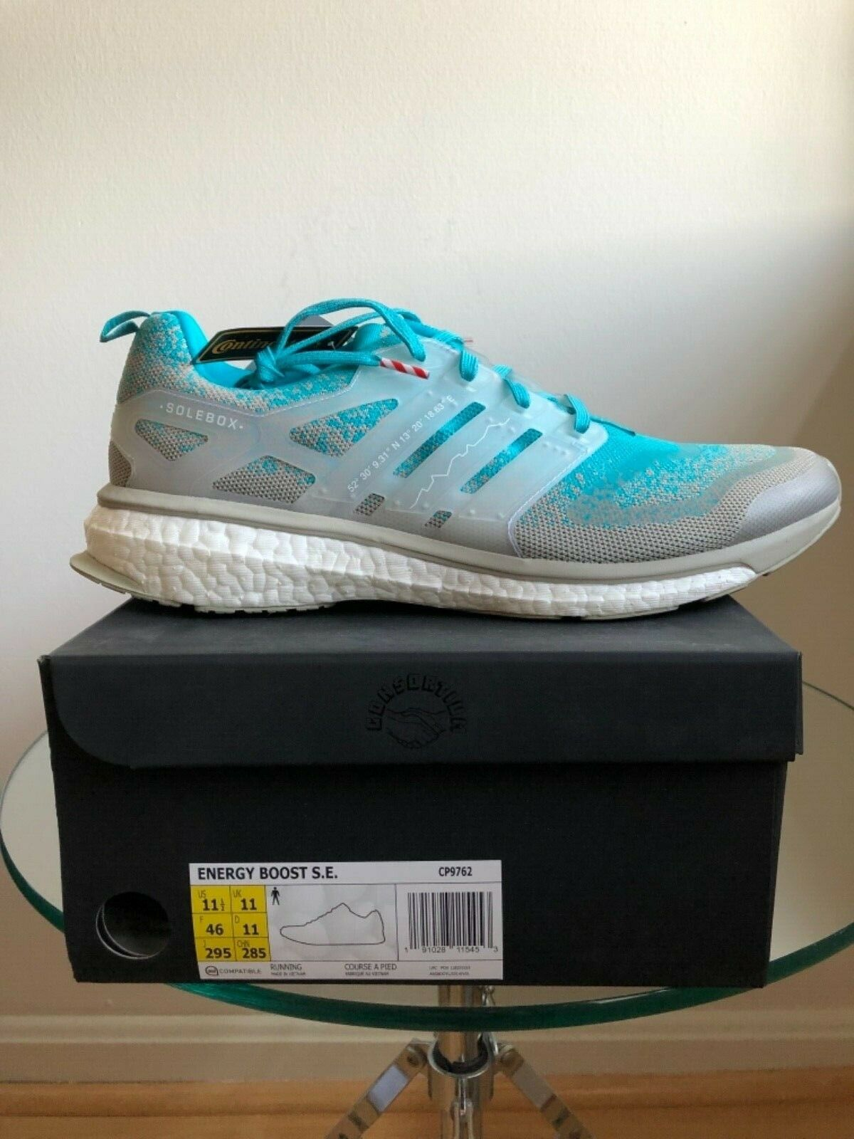 ADIDAS ENERGY BOOST S.E. PACKER SOLEBOX gris Azul CP9762