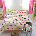 Mouse Single Double Queen King Bed Set Pillowcase Quilt/Duvet Cover OAUr bt