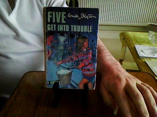 1 of 1 - Five Get Into Trouble-Enid Blyton Paperback English Genre Fiction Knight 1969