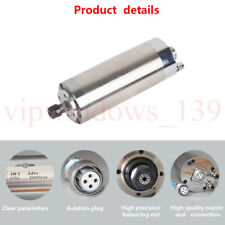 37kw Water Cooled Spindle Motor Er20 24000rpm 400hz For Cnc Router Engraving