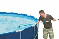 Intex Cleaning Maintenance Swimming Pool Kit With Vacuum & Pole, New, Free Shipp on sale