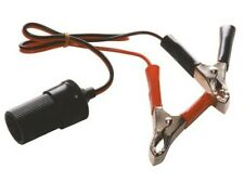 12v Accessory Socket With Battery Clamps Crocodile Clips  [TMX451]            2P