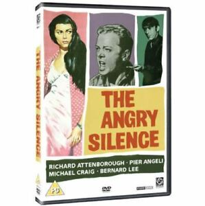 The-Angry-Silence-DVD-1959-Richard-Attenborough-New-All-Region-Sealed