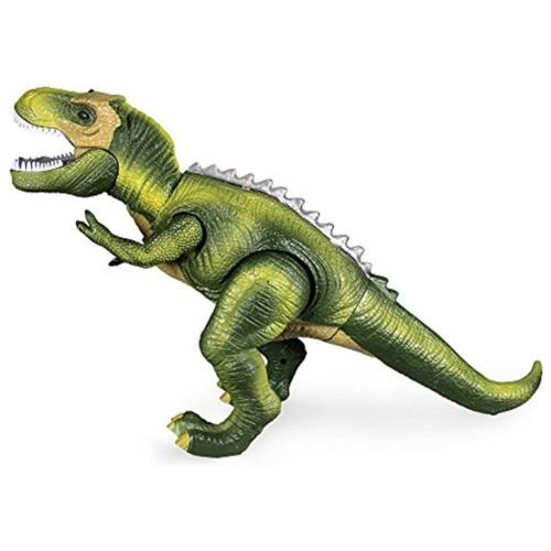 T-Rex Dinosaur Toys Remote Control LED Light-up Walking Roaring Jurassic Gifts