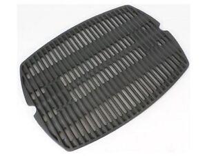 weber gas grill cast iron matte porcelain coated grates for q300 q320 q3000 ebay. Black Bedroom Furniture Sets. Home Design Ideas