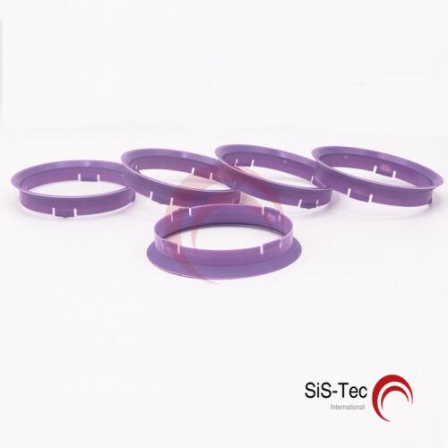 5 x Bague de Centrage Bague d/'espacement Jantes Alu 74,1 X 72,6 mm CMS DBV Proline fz01-Neuf