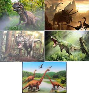3 d ansichtskarte dinosaurier t rex dinos postkarte wackelkarte hologrammkarte | ebay