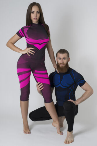 Bellissima Women/'s Capri Yoga Pants Seamless High-Waisted Workout Leggings