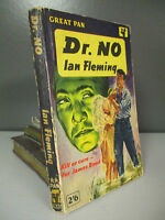 Ian Fleming - Dr. No (James Bond) - 1st Paperback Edition - Pan - 1960 (ID:472)