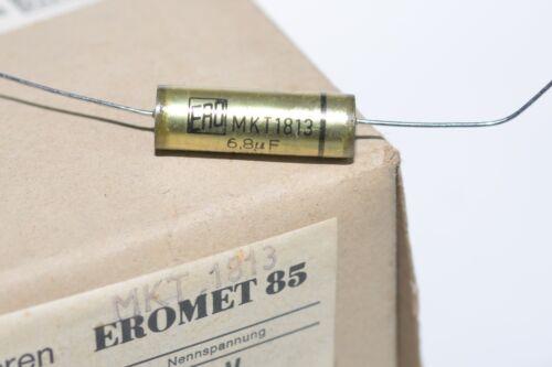 4x Vintage ERO eromet 85 MKT 1813 High-End Audio Capacitor 6.8 μF 63 V NOS