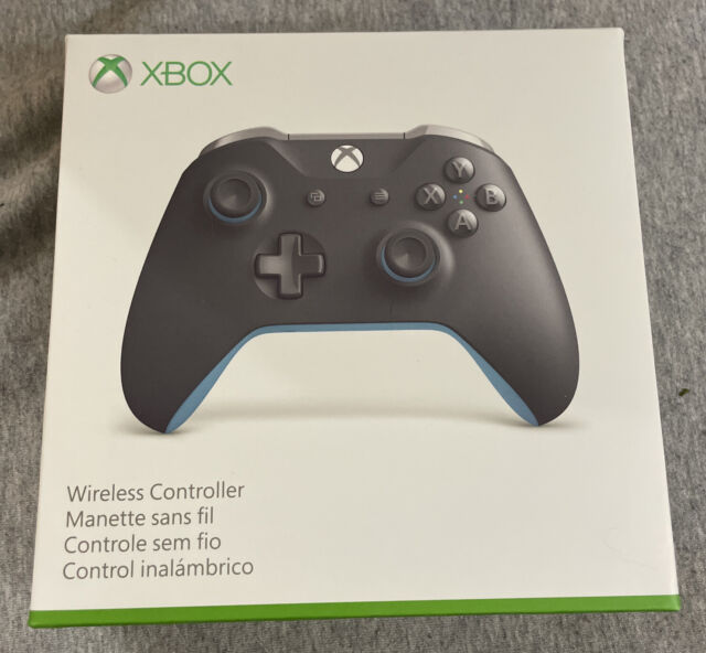 Microsoft Xbox One Wireless Controller - Grey/Blue BRAND NEW FREE FAST SHIPPING