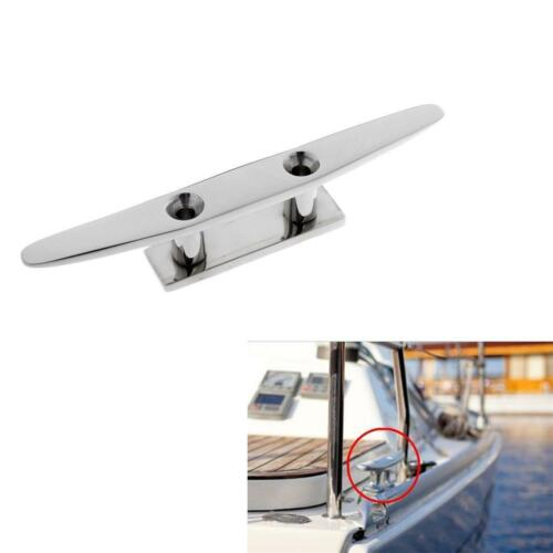 """8/"""" 316 Stainless Steel Rope Cleat for Sailing Yacht Marine Boat Dock Mooring"""