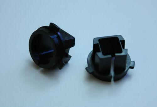 2X HID H7 Xenon Bulb Adapter base For Genesis coupe Sorento Mitsubishi Outlander